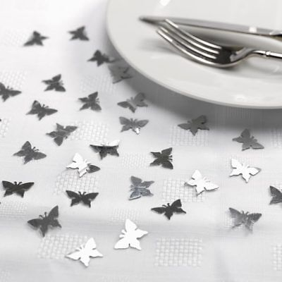 Elegant Butterfly Confetti - Silver or Gold