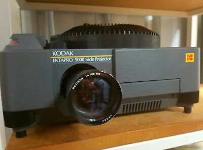 Kodak Carousel Ektapro 5000 Projector with FREE 2nd Marc-300 Lamp valued at $80