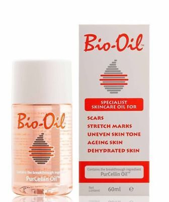 Bio-Oil with PurCellin Oil Skincare for Scars ,Stretch Marks, Aging Skin 60ml FS
