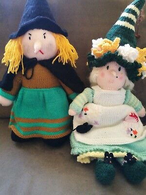 knitted dolls (selling together)