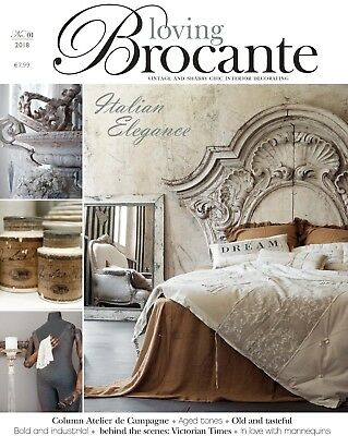 Loving Brocante Magazine Issue No. 1 January 2018 - Antiques & Interiors