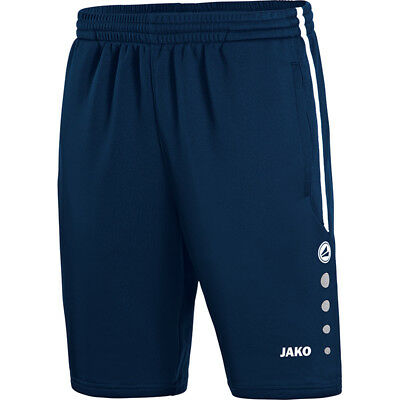 Jako Trainingsshort Active Kinder marine/weiß Shorts Hose Keep Dry Sporthose TOP