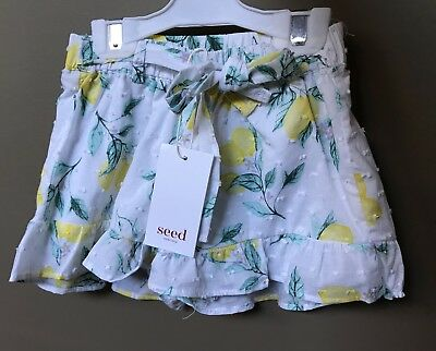 Seed Heritage Girls Shorts Size 3 Years RRP$39.95