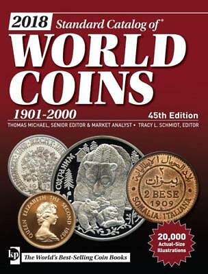 2018 !!! Standard Catalog of World Coins 1901-2000 - 45th edition