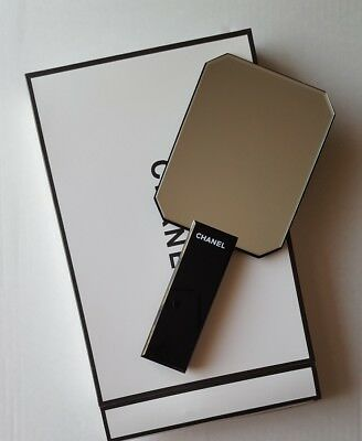 Chanel VIP Gift Make-Up Mirror Glossy Black with Box