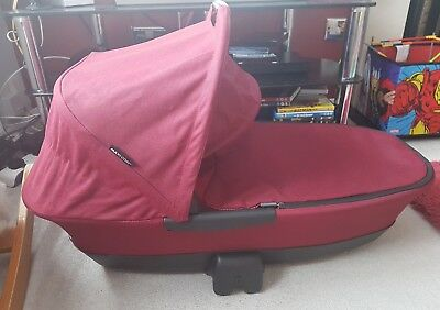 Maxi cosi foldable carrycot in robin red