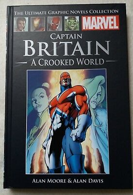 Captain Britain - A Crooked World - Alan Moore and Alan Davis (Marvel)