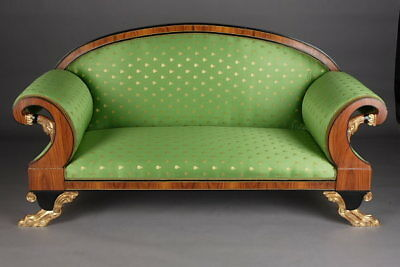 Empire Swans Canapé Sofa Couch in the Classicism Style