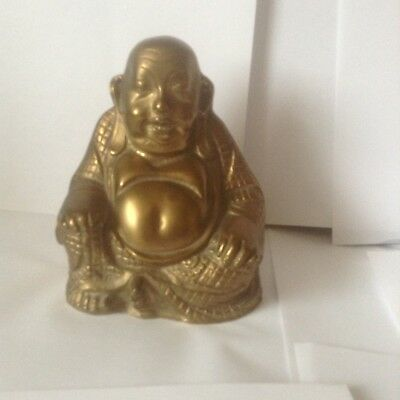 Solid Brass Buddha from India