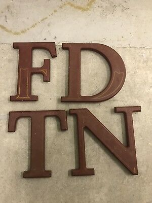 Salvaged Letters From A Pub Sign