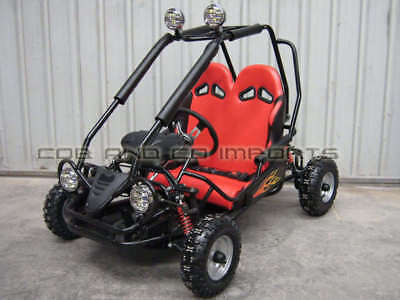 Kids TWIN GoKart Auto Dune Buggy 50cc ATV Quad 4 Stroke Rem Cut Off | Cob & Co