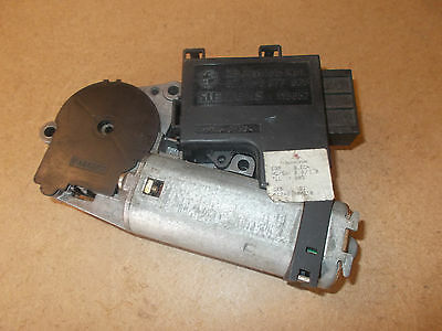 BMW E38 740i E39 528i X5 Sunroof Motor + Module Part 8377939 Fits FROM 3/1998