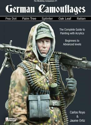 Andrea Press German Camouflages Camo A5  Paperback Book Royo & Ortiz