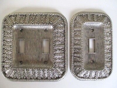 2 Vintage Switch Plate Covers American Tack & Hardware 1968