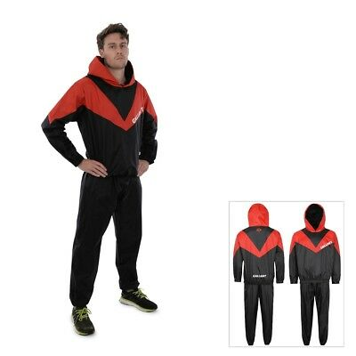 Heavy Duty Sauna Sweat Suit Adult Slimming Weight Loss Fitness Exercise Training
