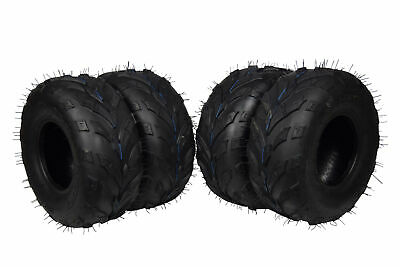 4 Set MASSFX 145/70-6 6Ply Go-Kart, Mini Bike, ATV, Lawn Tires 145x70-6 145x70x6