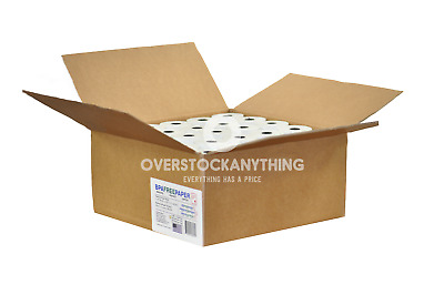"3-1/8"" x 230' Thermal Receipt Paper Rolls 50 Case POS Cash Register BPA Free"