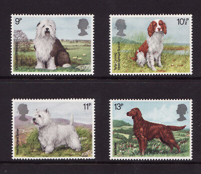 1979 GB, Dogs, NH Mint set of stamps SG 1075-8