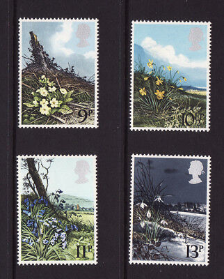 1979 GB,Spring Wild Flowers, NH Mint set of stamps SG 1079-82