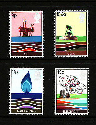 1978 GB, Energy Resources, NH Mint set of stamps SG 1050-3