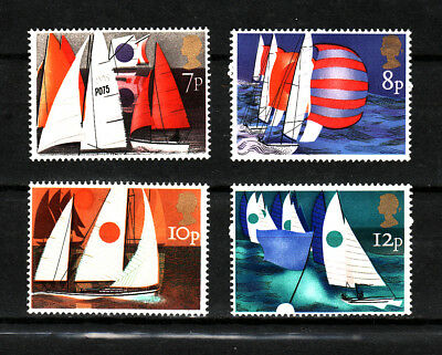 1975 GB Sailing, NH Mint Set of Stamps ,  SG 980-83