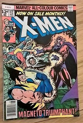 Marvel Comics X-Men, #112, 1978