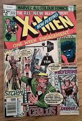 Marvel Comics X-Men, #111, 1978