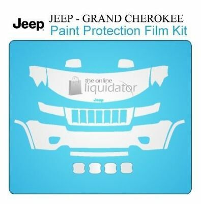 Paint Protection Film Kit Deluxe PreCut Clear Bra - Jeep Cherokee 2011-2013