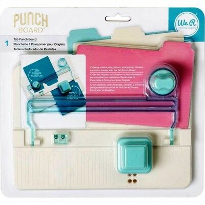 Memory Keepers Tab Punch Board 663105