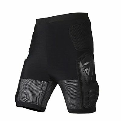 Ohmotor Motorcycle Bicycle Ski Protective Armour Pants Heavy Duty Body Armor for