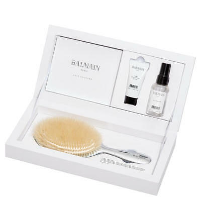 BALMAIN Silver Brush Set RRP £110 MARKED