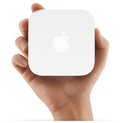 Apple AirPort Express 300 Mbps 2-Port 100 Mbps Verkabelt Router (MC414Z/A)