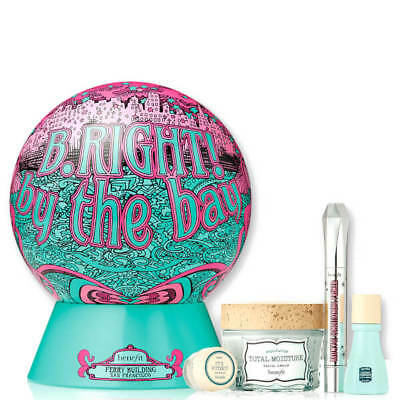 BENEFIT b.right! By The Bay Gift Set 4 Products #5723 DENTED