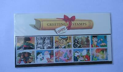 "G.B Presentation Pack ""Greetings Stamps"" Pk No.G2 02/02/93"