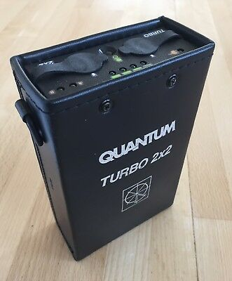 QUANTUM TURBO 2x2 BATTERY PACK * AS IS FOR PARTS ONLY *