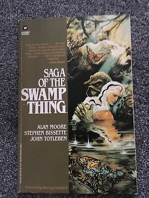 Saga of the Swamp Thing Book 1 by Alan Moore