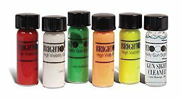 Truglo High Visibility Paint Bright Gun Sight Coating Kit - Multiple - 5 Colors