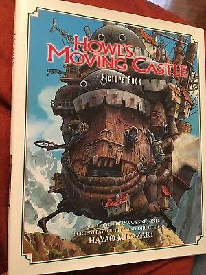 Howl's Moving Castle - Hardcover Picture Book of the anime, Hayao Miyazaki