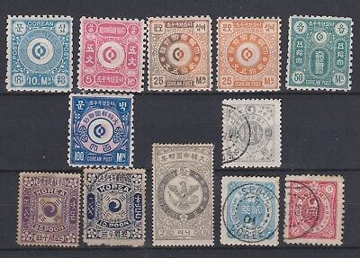 Korea, Early Stamp Group, Unchecked.
