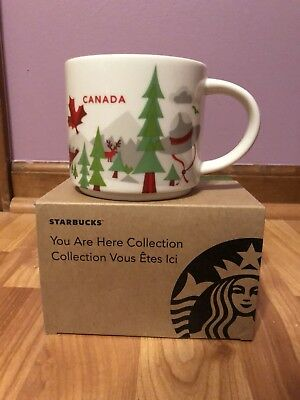 Canada Version 1 Starbucks You Are Here Mug Discontinued