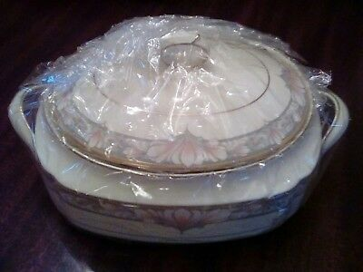 Noritake Barrymore Covered Oval Vegetable/Casserole Dish - NEW!