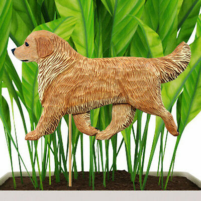 Golden Retriever Planter Pick Stake Light