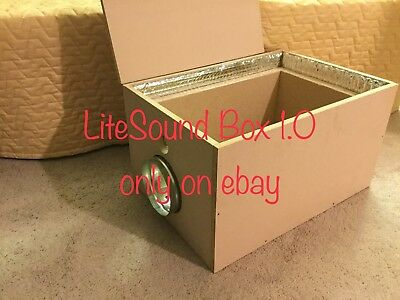 LiteSound Box 1.0 -  Antminer Noise-Sound Proof Box  Antminer L3+/D3/S9/V9/S5