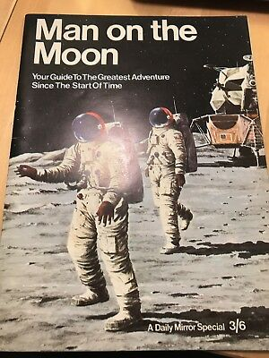 Man On The Moon Daily Mirror Special