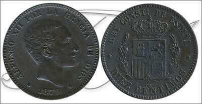 Spain - Coins centenario- Year: 1879 - number 00026 - EBC+ Alfonso XIII 10 ct