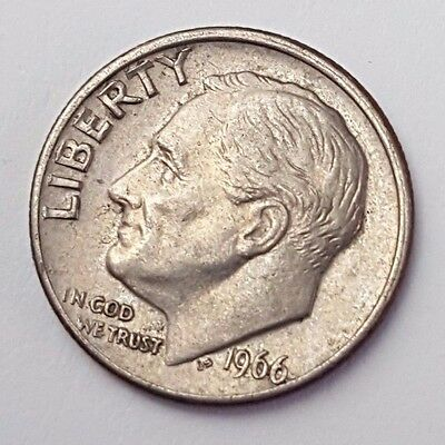 Dated : 1966 - USA - Roosevelt - One Dime - Coin - United States of America