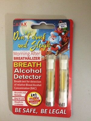 Morning After Breathalizer Breath Alcohol Detector 0.05% BAC