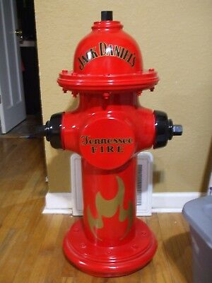 Jack Daniels Tennessee Whiskey Fire Hydrant Display Piece Man Cave Department