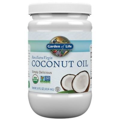 Organic Extra Virgin Unrefined Cold Pressed 100% Pure Coconut Oil Hair Skin NEW