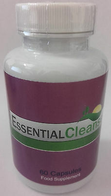 Essential Cleanse Detox / Weight Loss 60 Capsules - Brand New & Sealed